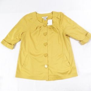 Gold Allison Taylor Jacket Blouse 16